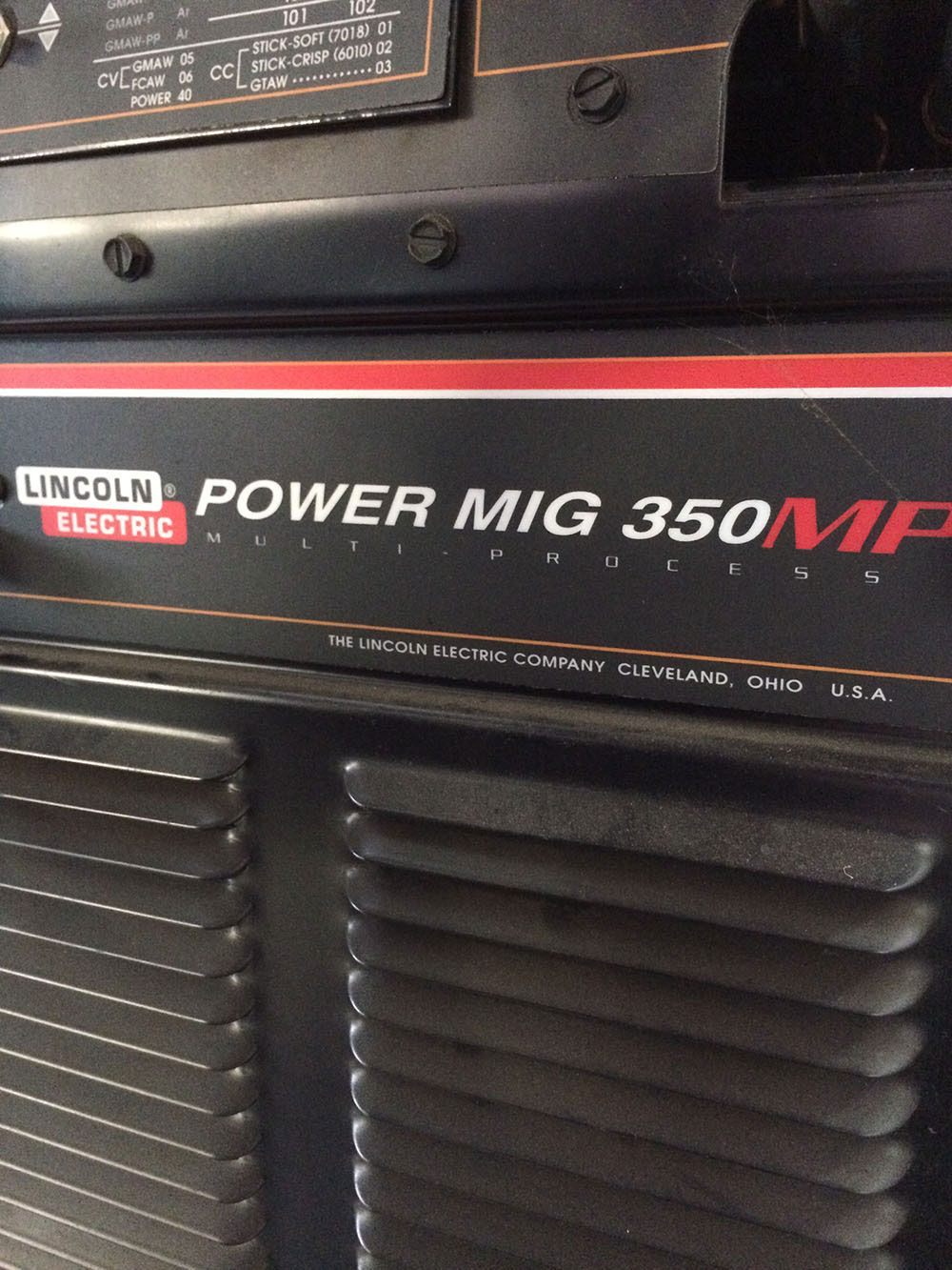 Lincoln Power MIG 350 MP MIG Welder