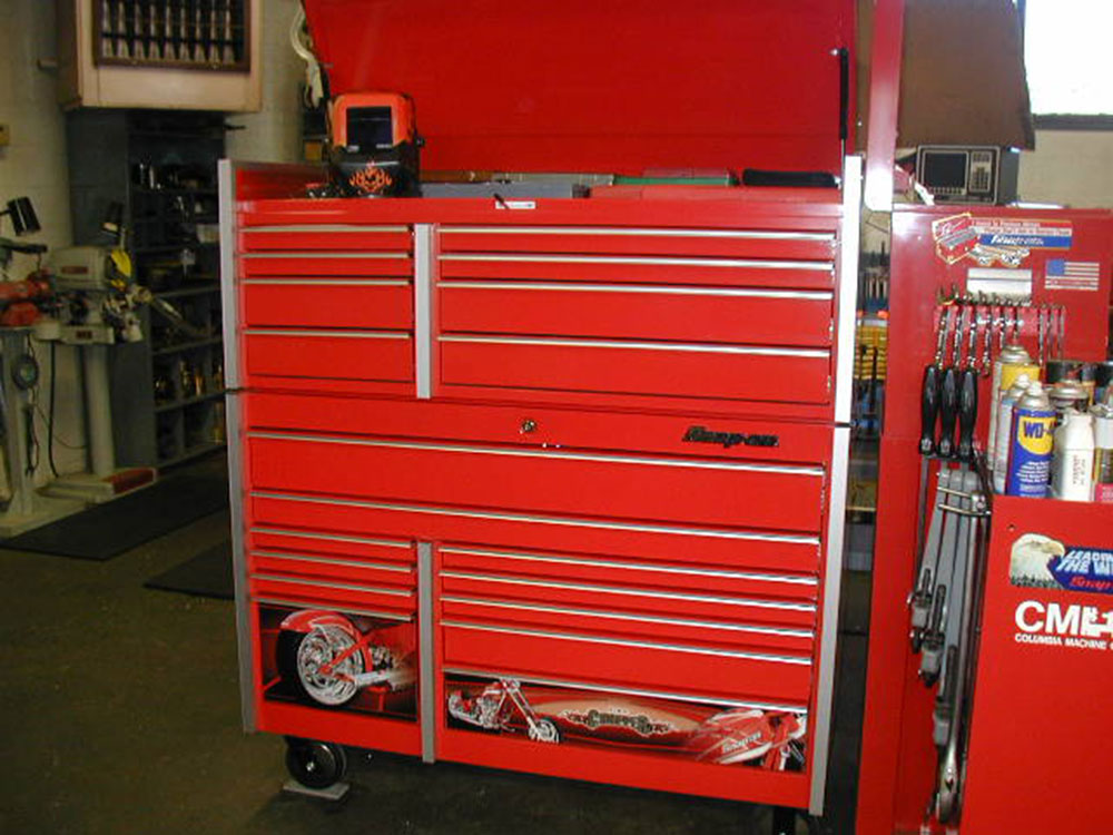 Snap on Orange County Chopper, Snap on Chopper, Special Edition Tool Chest